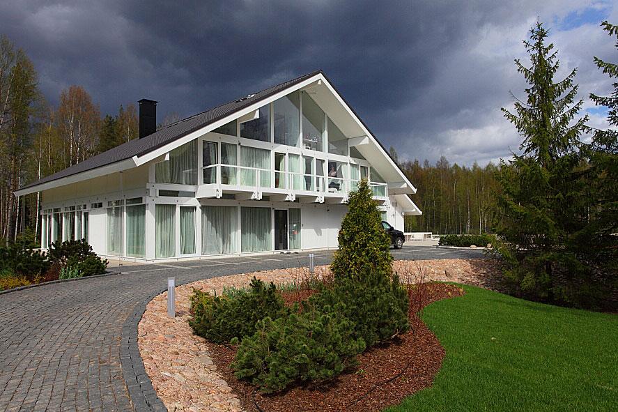 Немецкие дома фахверк позволяют своим