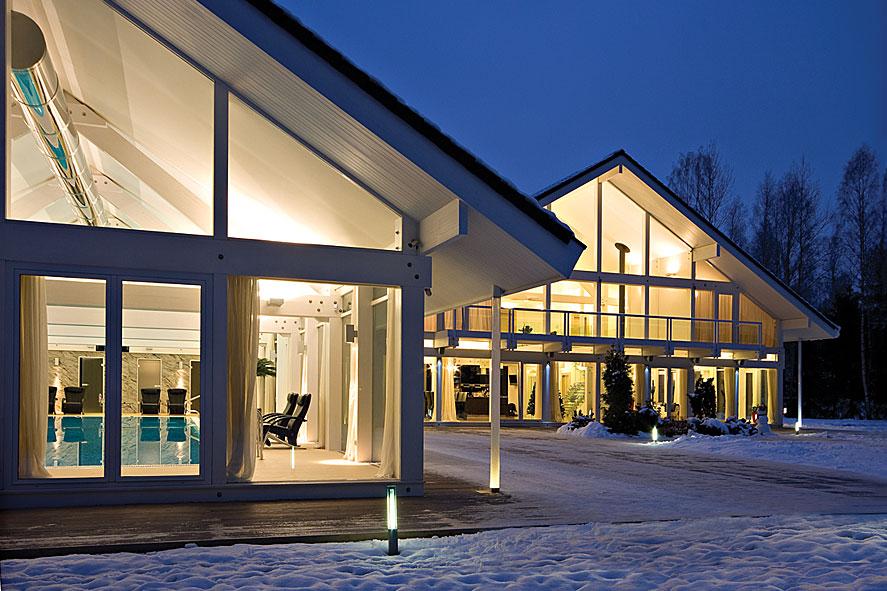 Стильные красивые немецкие дома