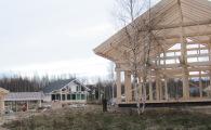 Вид на коттеджный поселок OSKO-VILLAGE