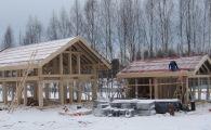 В коттеджном поселке фахверк OSKO-VILLAGE