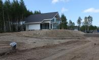 Подготовка террасы на 23 участке в OSKO-VILLAGE