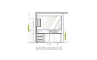 Проект кухни Boffi для коттеджа 162 кв.м.