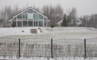 Элитные коттеджи от ОСКО-ХАУС в поселке недалеко от Петербурга