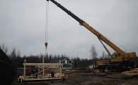 Строительство поселка в Санкт-Петербурге
