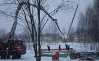 Заливка фундаментов в элитном поселке OSKO-VILLAGE