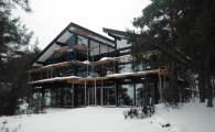 Коттедж фахверк на Финском заливе