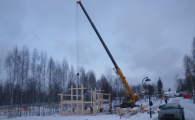 Строительство будущего коттеджа площадью 162 кв.м.